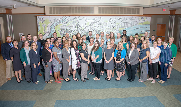 2019 Undergraduate Admissions Staff Photo