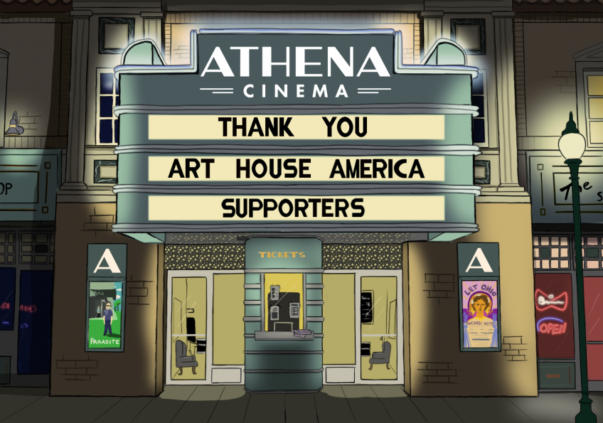 Thank You Art House America Supporters