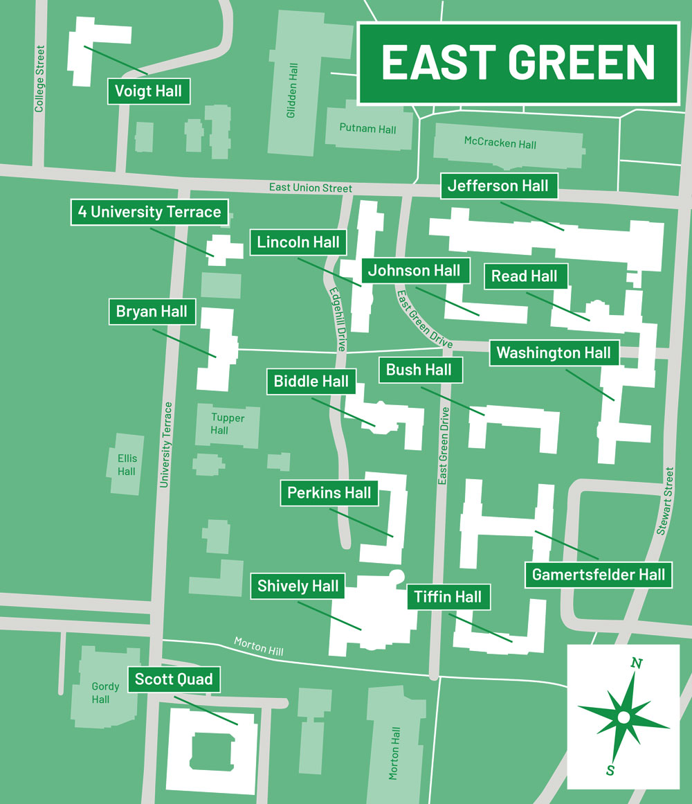 East Green Map